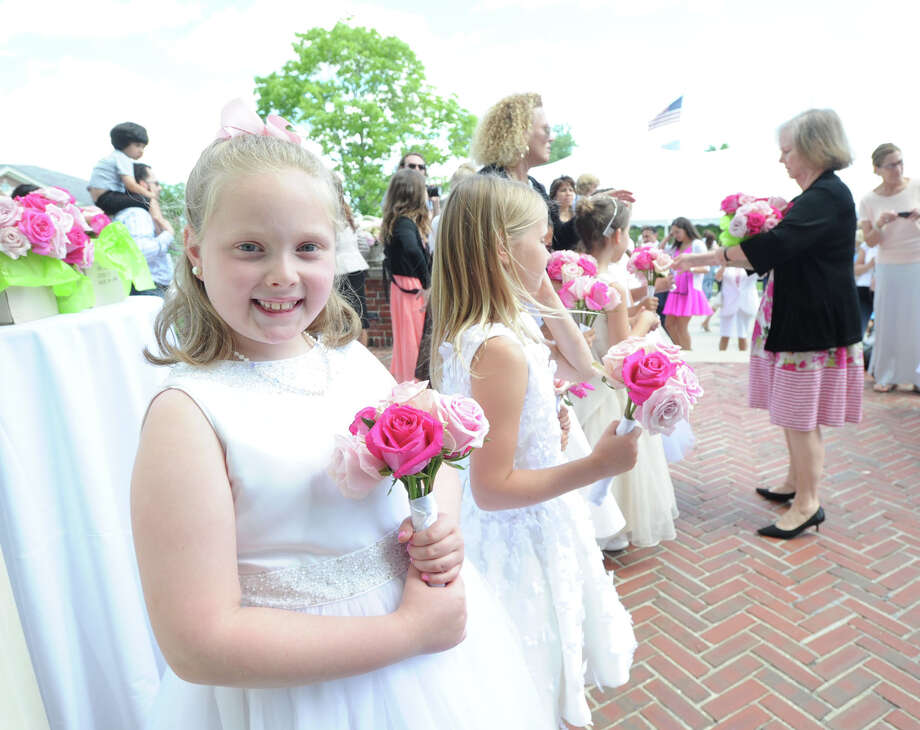The Convent of the Sacred Heart Commencement at the school in Greenwich, Friday afternoon, June 6, 2014. Photo: Bob Luckey / Greenwich Time