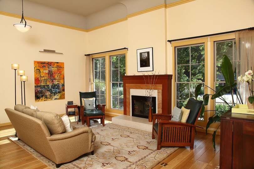 3535 hagan road is a schoolhouse dating back to 1909 that for Living room with 10 foot ceiling
