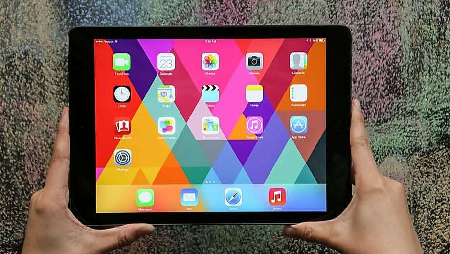 Apple iPad Air Photo: Cnet