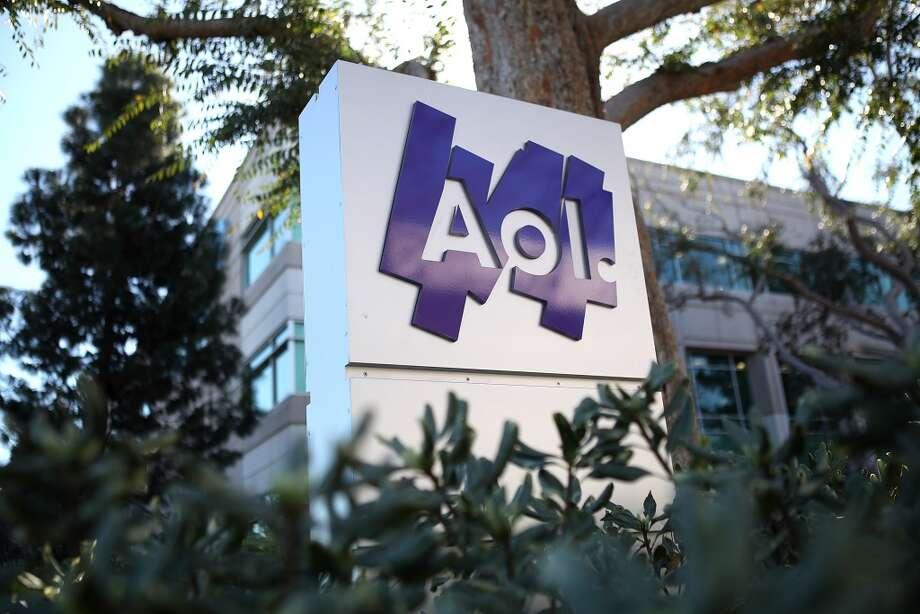 AOL Market cap: $2.89 billion Photo: Justin Sullivan, Getty Images