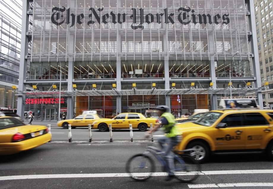 New York Times CompanyMarket cap: $2.28 billion Photo: Mark Lennihan, Associated Press
