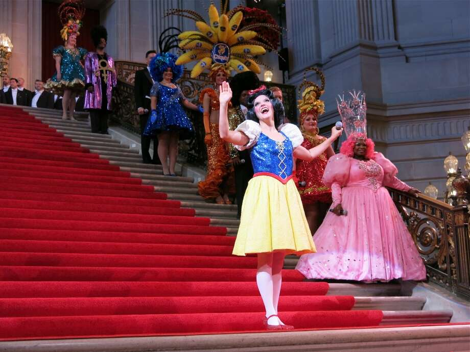 Snow White shares her tale of looking for love in S.F. Photo: Catherine Bigelow