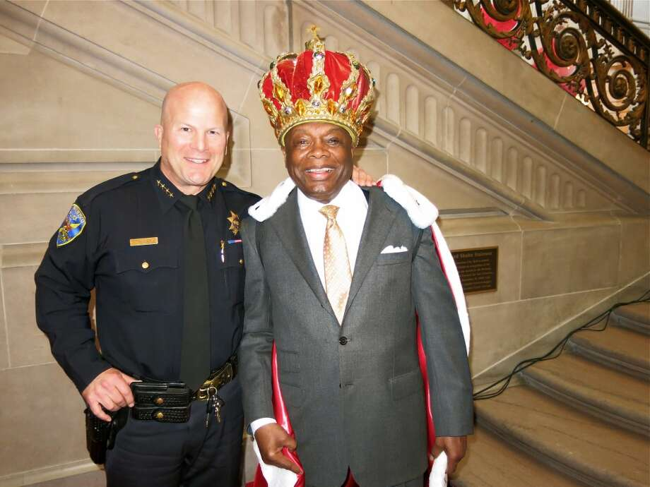 Greg Suhr may be SFPD Chief but Willie Brown is still king of the city. Photo: Catherine Bigelow