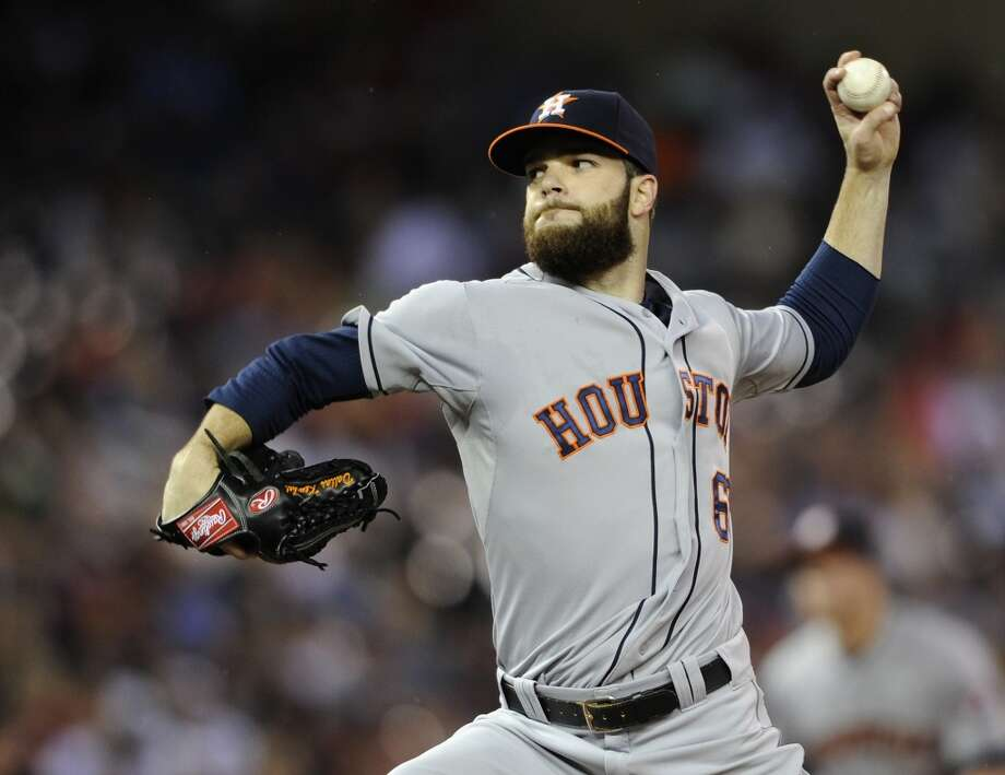 June 6: Astros 5, Twins 4Dallas Keuchel delivers a pitch during the first inning. Photo: Hannah Foslien, Getty Images