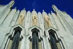 The Boston Avenue Methodist Church is Tulsa's only National Historic Landmark.
