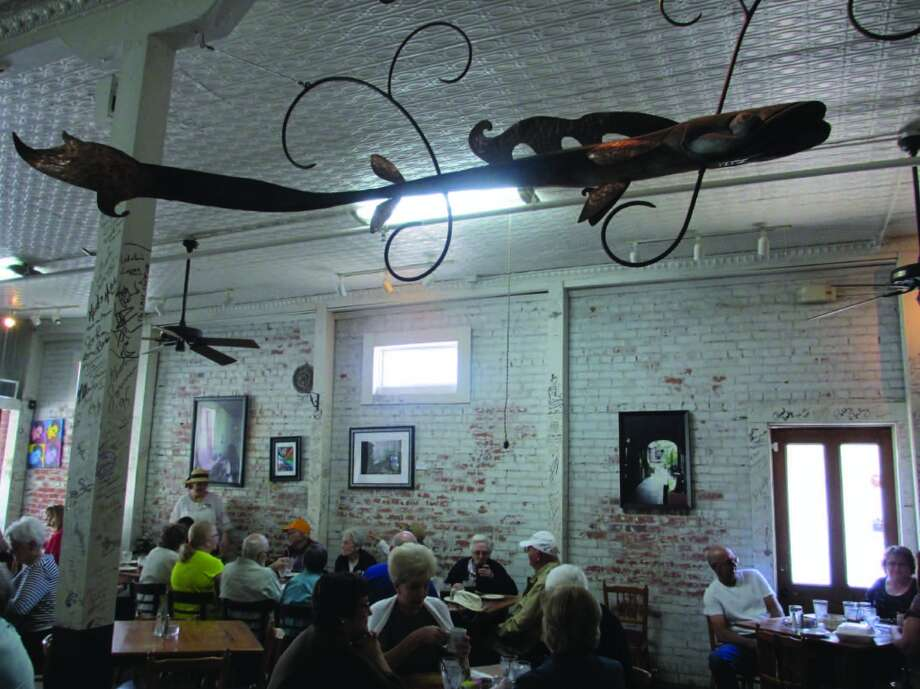 Cafe Des Amis was located in an old brick building on East Bridge Street in Breaux Bridge. Photo: Terry Scott Bertling, San Antonio Express-News