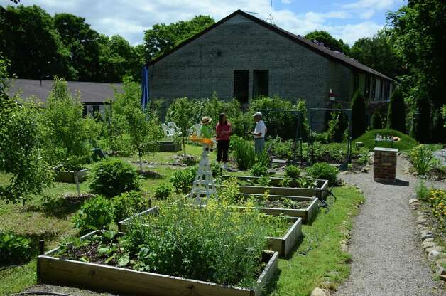 The St. Mark's vegetable garden was a featured stop on the Ne