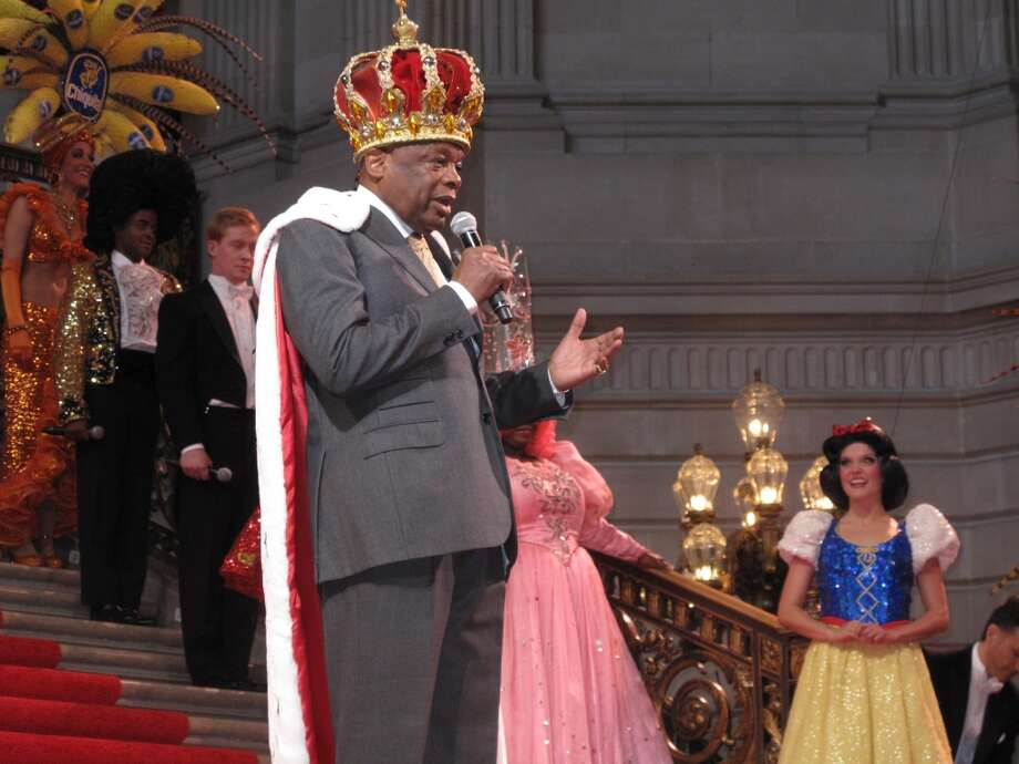 Willie Brown, the Emperor who always has clothes Photo: Leah Garchik