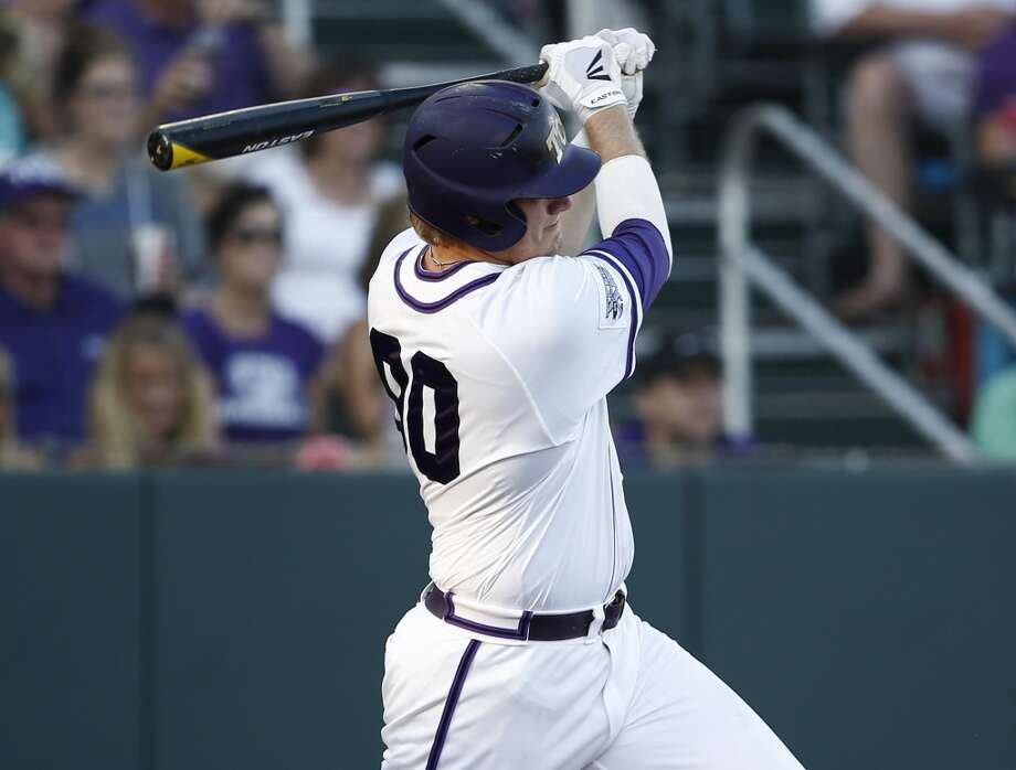 Kevin Cron, 1B, TCU  Arizona Diamondbacks, 14th round, No. 420 overall  Not pictured:  Kelvin Ramos, SS, San Jacinto  Los Angeles Dodgers, 14th round, No. 429 overall  Christopher Shaw, C, Midland College  St. Louis Cardinals, 14th round, No. 435 overall Photo: Jim Cowsert, AP