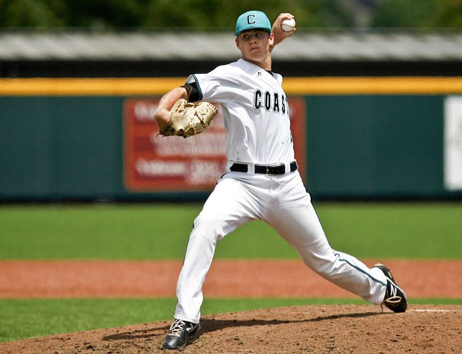 17th round - No. 496 overall  Ben Smith, LHP, 6-2, 185, Coastal Carolina  Not pictured:  18th round, No. 526 overall  Antonio Nunez, SS, 5-9, 165, Western Oklahoma State  19th round, No. 556 overall  Ruben Castro, C, 5-10, 182, Puerto Rico Baseball Academy  20th round, No. 586 overall  Trent Woodward, C, 6-2, 200, Fresno State  21st round, No. 616 overall  Mac Marshall, LHP, 6-0, 181, Parkview High School (Ga.)  22nd round, No. 646 overall  Bryan Muniz, 1B, 6-0, 200, Southeastern Universty Photo: Michael Shroyer, AP