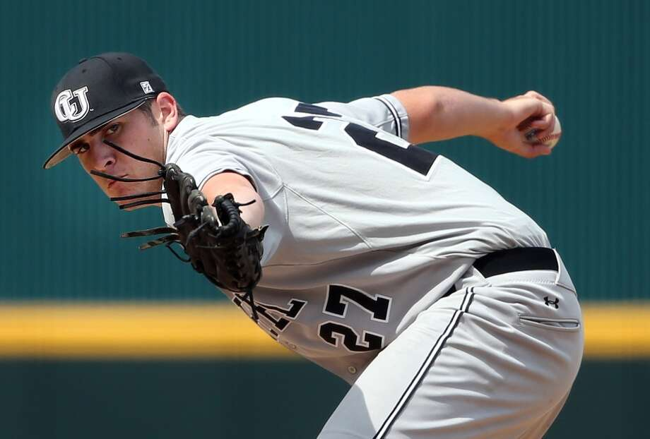 23rd round - No. 676 overall  Ryan Thompson, RHP, 6-5, 215, Campbell University Photo: Stephen B. Morton, AP