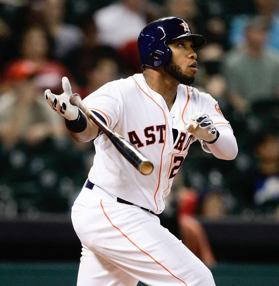 Jon Singleton is the latest revelation for the young and improving Astros. Houston signed him to a potentially team-friendly five-year, $10 million contract before he played a big-league game. Photo: Bob Levey, Associated Press