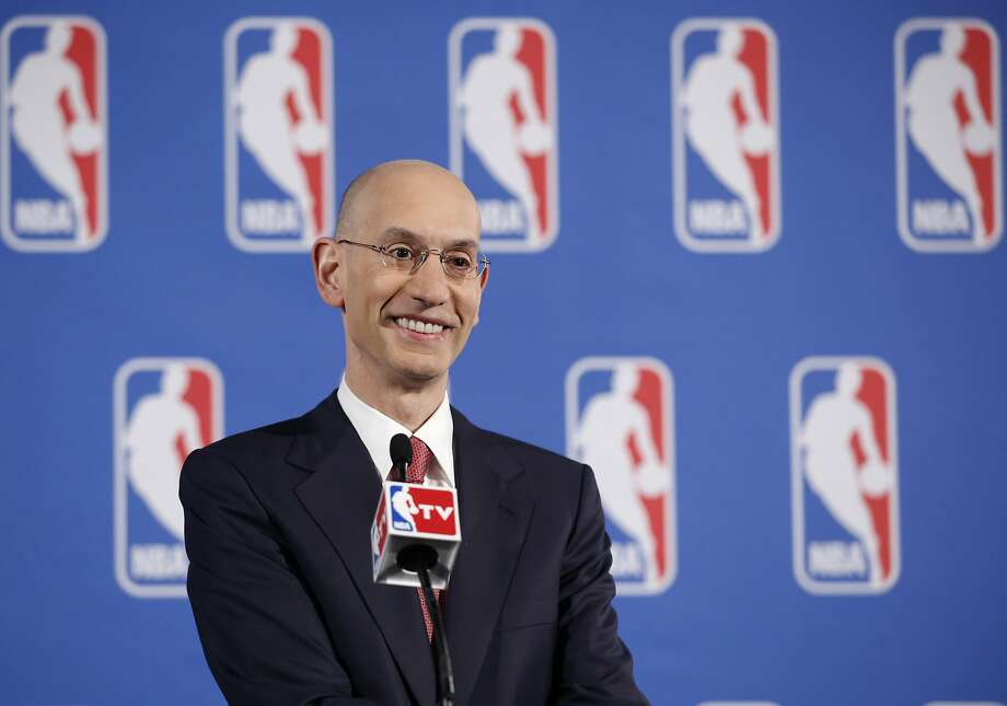 For his next challenge, Commissioner Adam Silver might do well to consider the overly long NBA schedule. Photo: Kathy Willens, Associated Press
