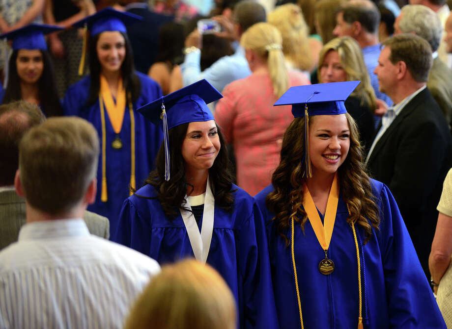 The 31st Commencement Exercises of Christian Heritage School in Trumbull, Conn. on Saturday June 7, 2014. Photo: Christian Abraham / Connecticut Post