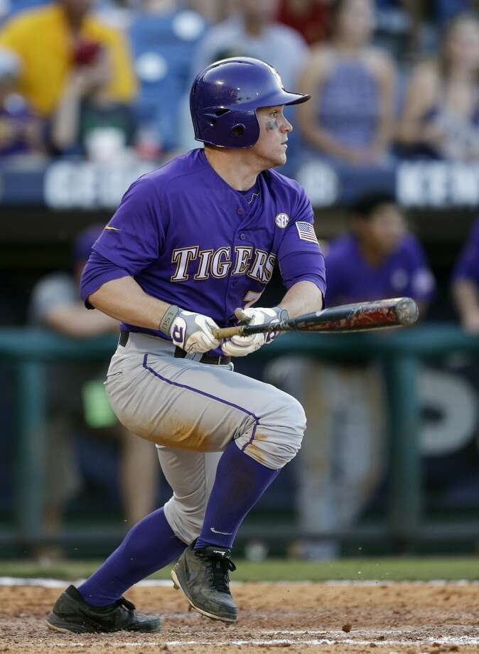 30th round - No. 886 overall  Sean McMullen, OF, 5-9, 190, LSU  Not pictured:  31st round, No. 916 overall  Dexture McCall, 1B, 6-1, 220, Hillsborough Community College (Fla.) Photo: Dave Martin, AP