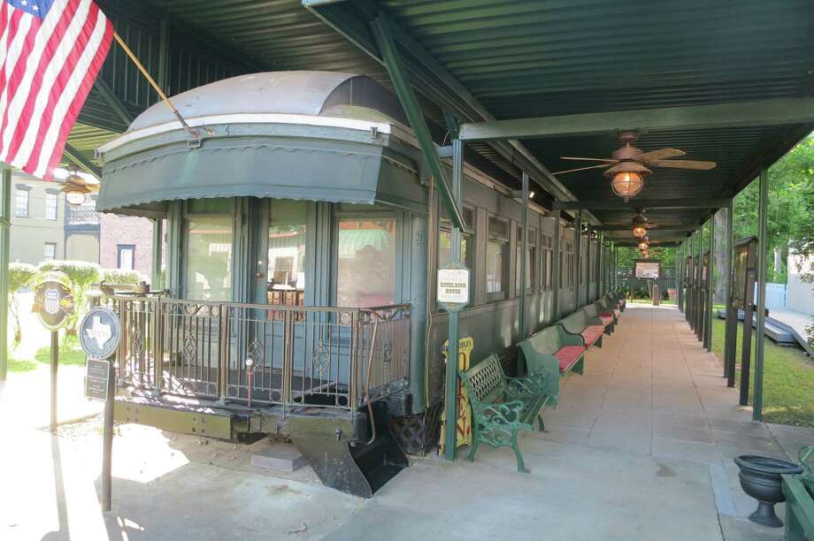 Legend has it that railroad tycoon Jay Gould placed a curse on Jefferson. It's probably not true, but Gould's luxurious rail car is a Jefferson tourist attraction. Photo: Joe Holley / Houston Chronicle