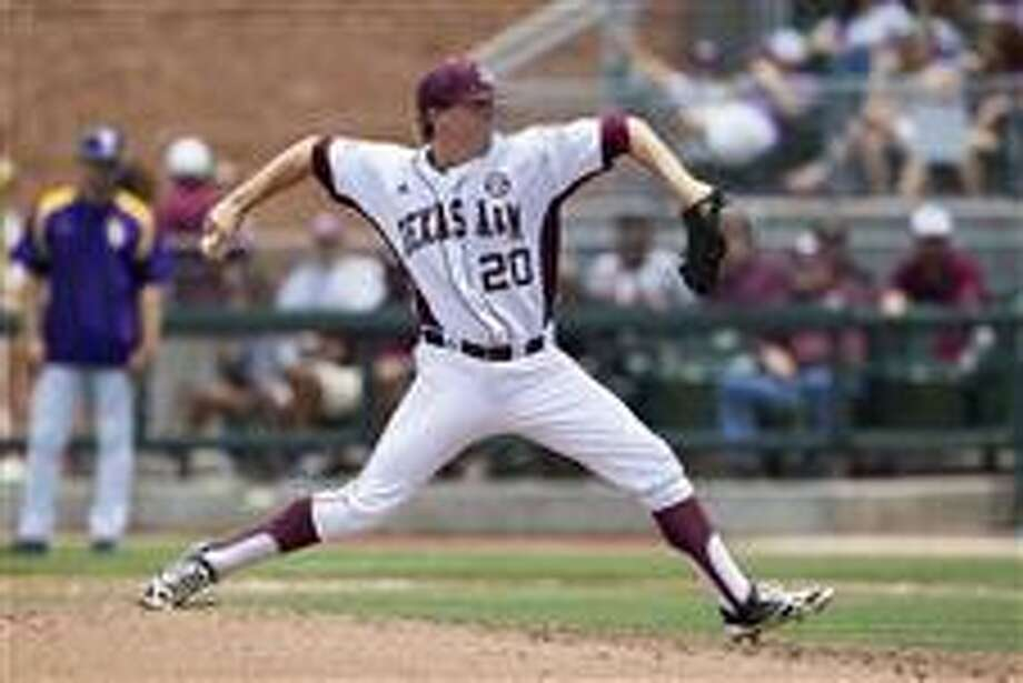 Jason Jester - Texas A&M, RHP  23rd round, No. 687 overall - San Diego Padres  Not pictured:  Taylor Hearn - San Jacinto College, LHP  25th round - Minnesota Twins  Gabe Klobosits - Galveston College, RHP  25th round - Boston Red Sox Photo: Andrew Woolley, AP Images