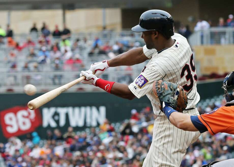 June 7: Twins 8, Astros 0  Danny Santana drives in two runs. Photo: Jim Mone, Associated Press