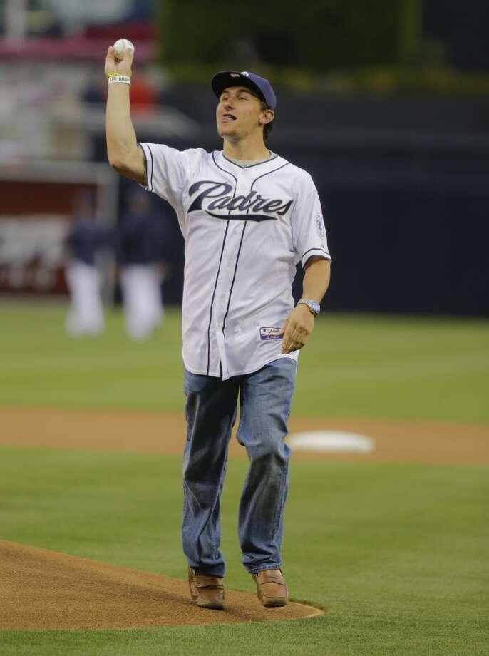 Johnny Manziel - Texas A&M, SS  28th round - San Diego Padres Photo: Lenny Ignelzi, Associated Press