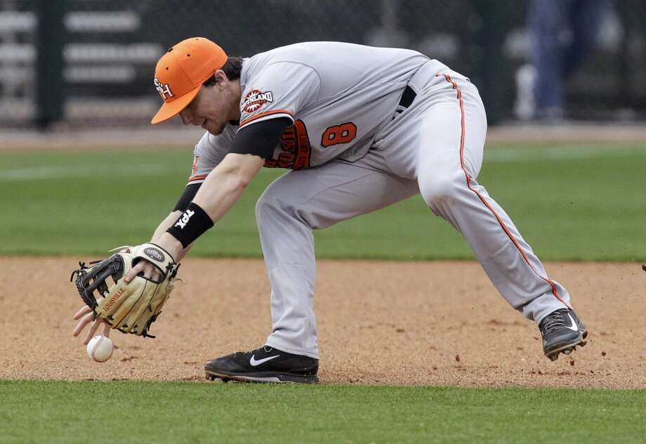 Carter Burgess - Sam Houston State, 3B  28th round - Tampa Bay Rays Photo: J. Patric Schneider, For The Chronicle