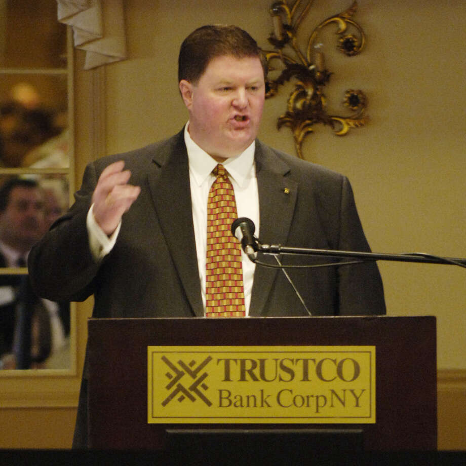 Robert J. McCormick of TrustCo Bank Corp May 15, 2006.  (Skip Dickstein/Times Union archive) Photo: SKIP DICKSTEIN / ALBANY TIMES UNION