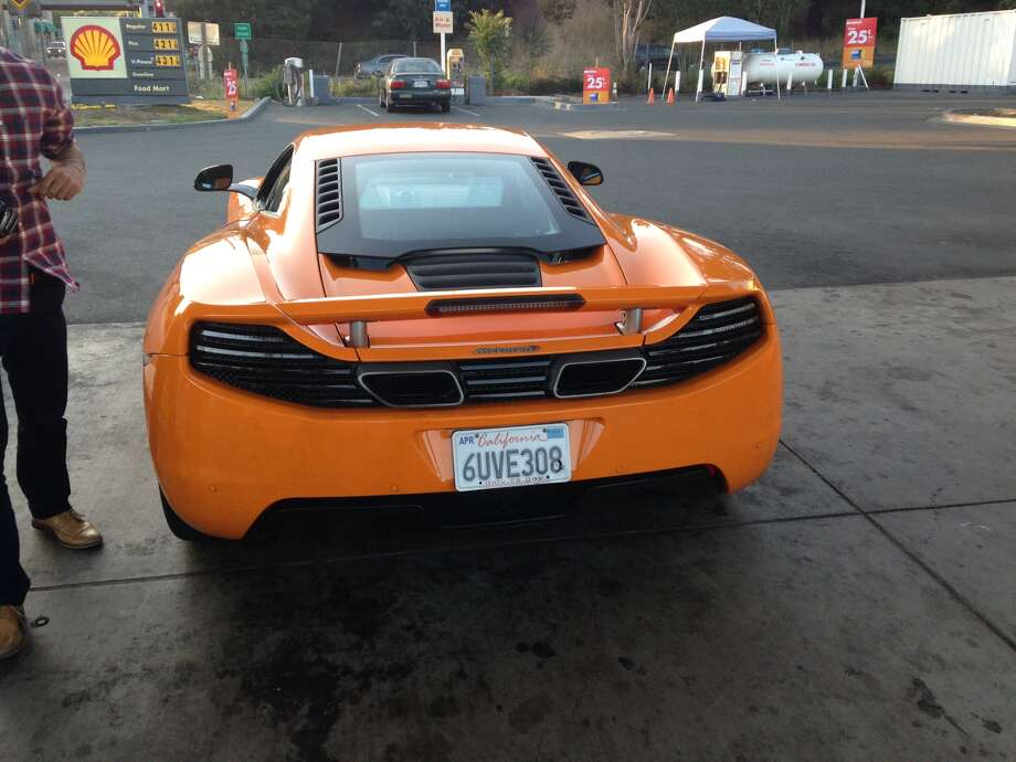 Mohannad Halaweh of Rohnert Park, and Nhimia Kahsay of Santa Rosa, both 19, were pulled over by a Sonoma County Sheriff's deputy Wednesday evening in Roseland, with Halaweh behind the wheel of an orange McLaren sports car.  Photo: Sonoma County Sheriffs Department