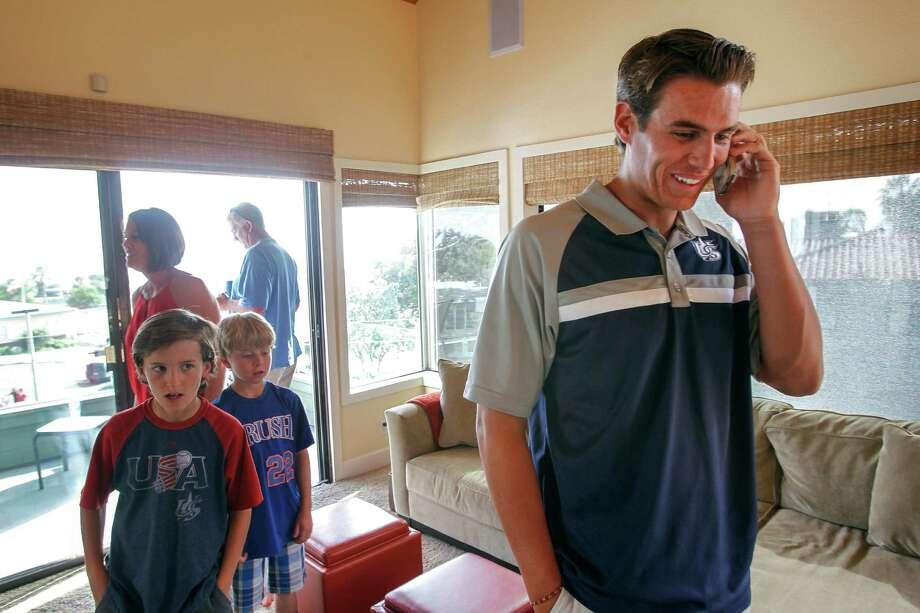 Ever since Brady Aiken received a congratulatory call telling him he was the draft's No. 1 pick, his dealings with the Astros have become less pleasant. Photo: Hayne Palmour IV, MBR / The U-T San Diego
