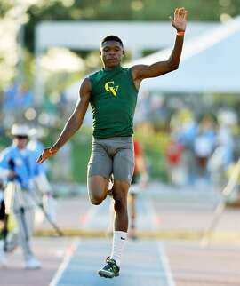 Castro Valley's Nate Moore won state titles in the long and triple jumps and ran a leg on the second-place 400 relay team.