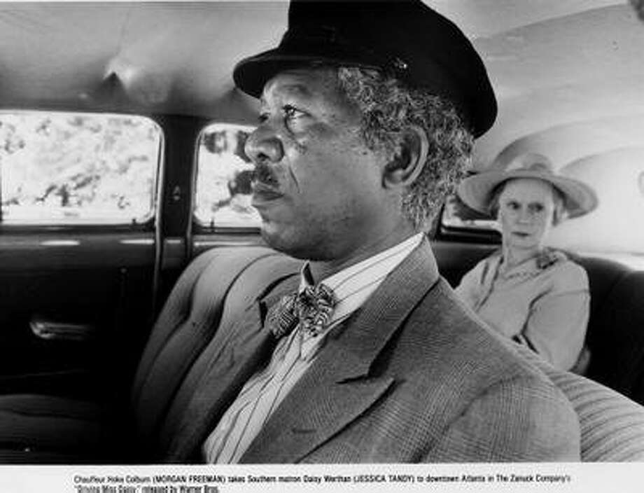 "Morgan Freeman and Jessica Tandy in ""Driving Miss Daisy"": Unworthy? Photo: Warner Bros."