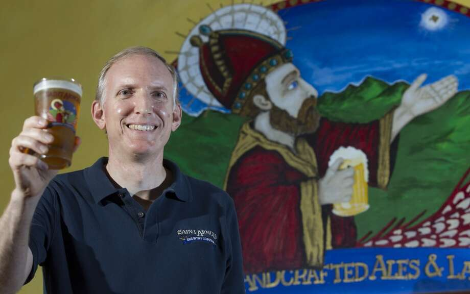 Saint Arnold Brewing Co's founder Brock Wagner poses for a portrait on Tuesday, June 3, 2014, in Houston. ( J. Patric Schneider / For the Chronicle ) Photo: J. Patric Schneider, For The Chronicle