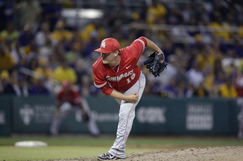 Chase Wellbrock - Houston, RHP  33rd round - Toronto Blue Jays Photo: Gerald Herbert, Associated Press