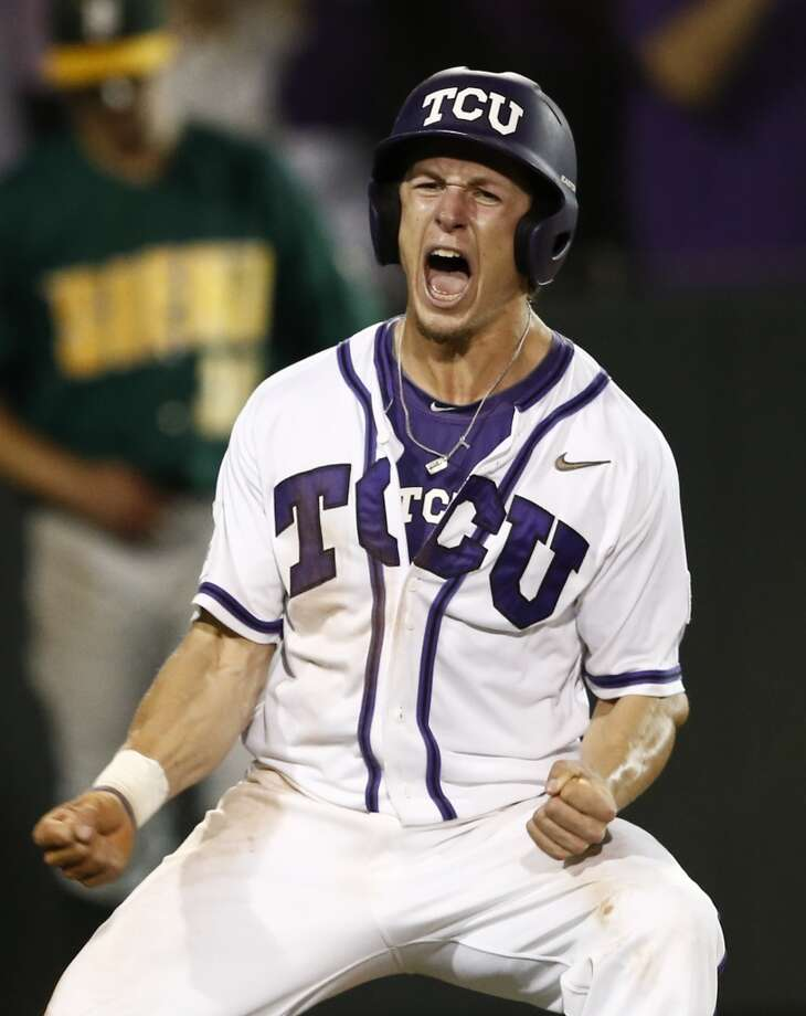 Cody Jones - TCU, CF  38th round - Chicago Cubs Photo: Jim Cowsert, Associated Press