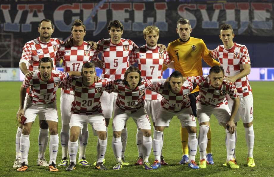 Group A  Croatia Photo: Darko Bandic, Associated Press