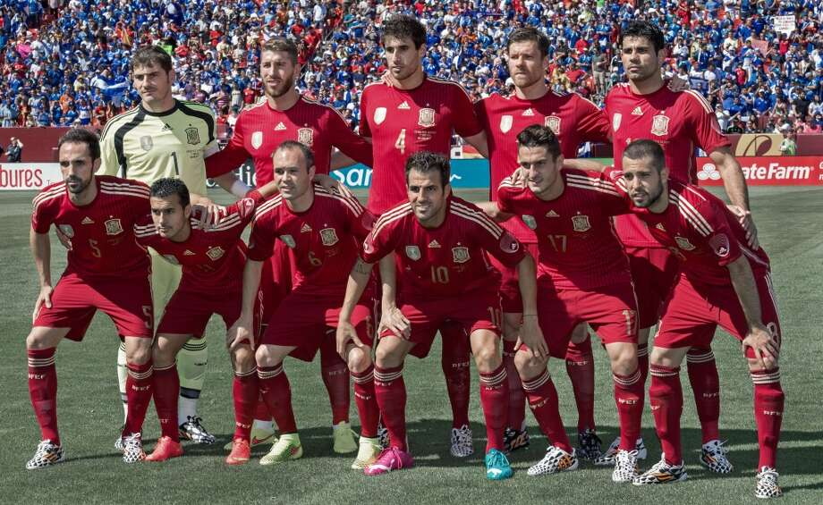 Group B  Spain Photo: PAUL J. RICHARDS, AFP/Getty Images