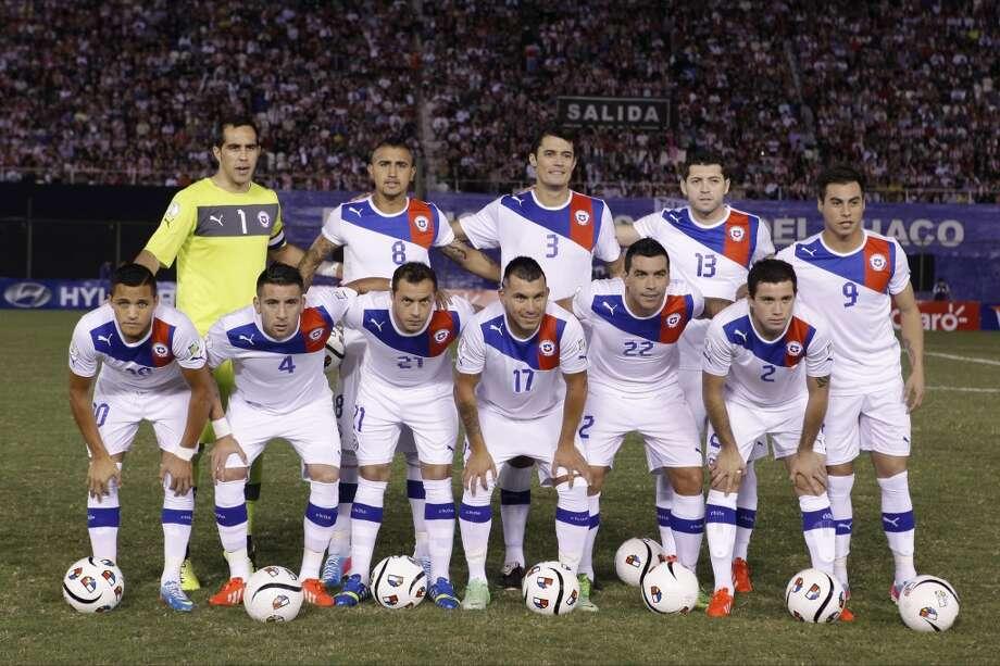 Group B  Chile Photo: Cesar Olmedo, Associated Press