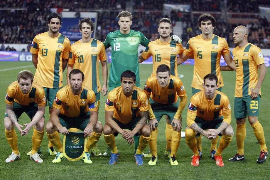 Group B  Australia Photo: Francois Mori, Associated Press