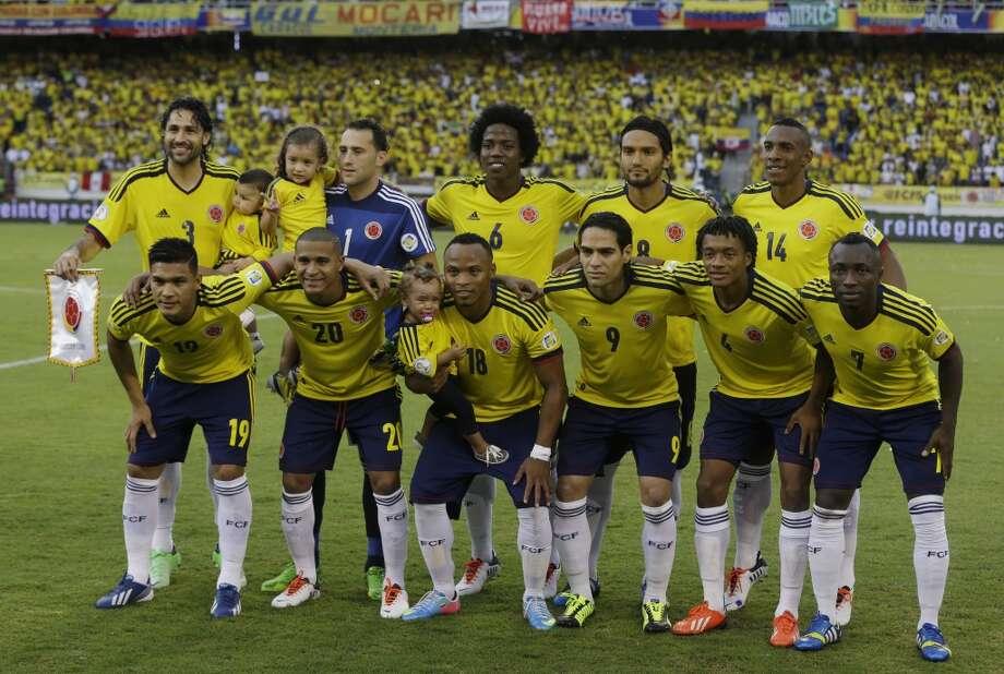 Group C  Colombia Photo: Ricardo Mazalan, Associated Press
