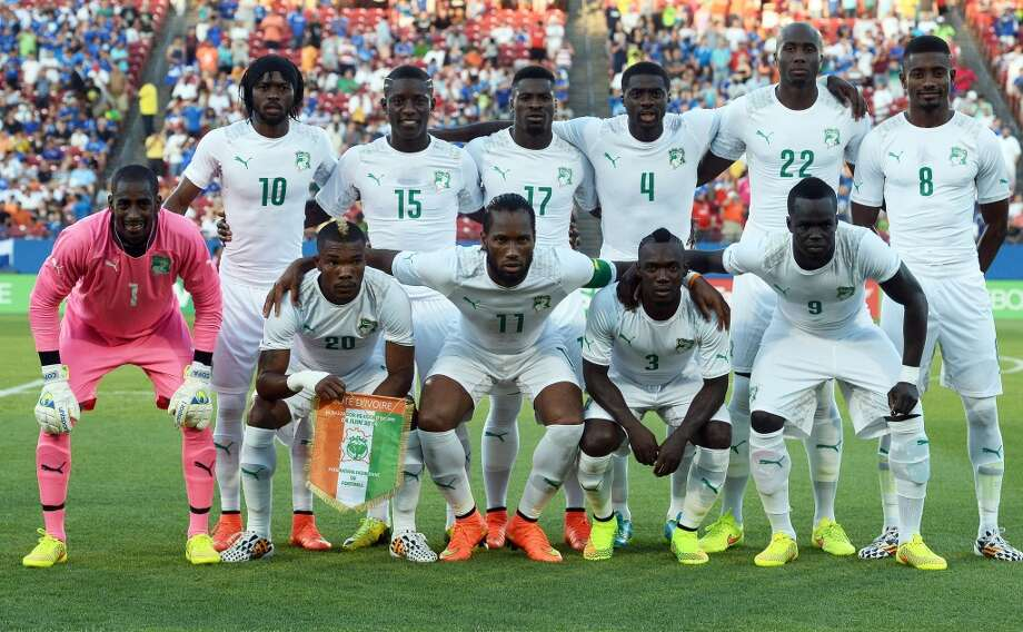 Group C  Ivory Coast Photo: JEWEL SAMAD, AFP/Getty Images