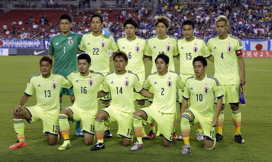 Group C  Japan Photo: Chris O'Meara, Associated Press