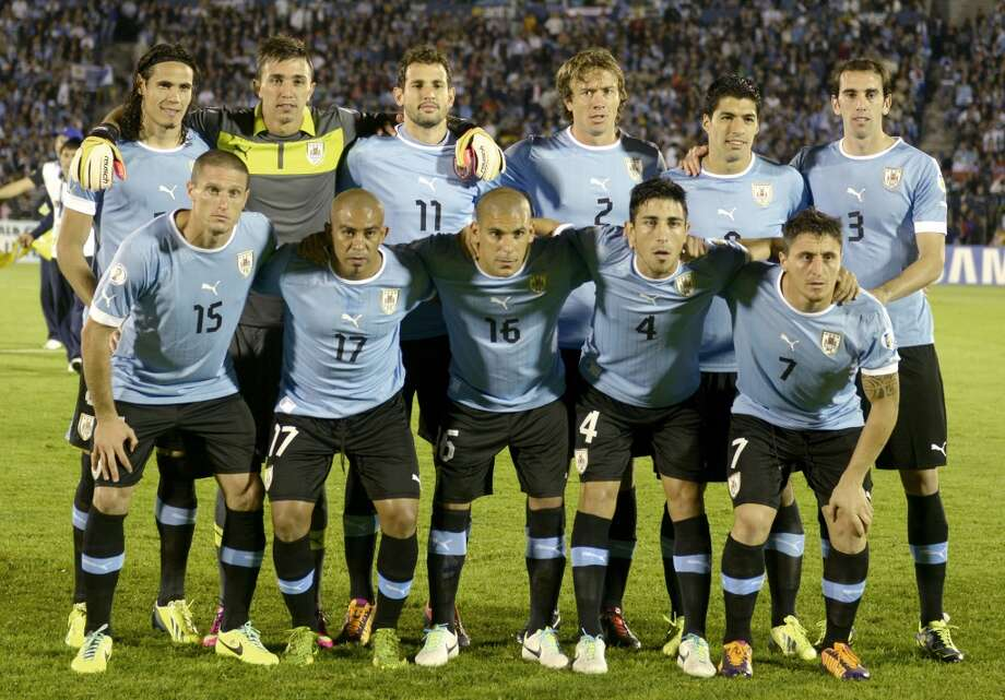 Group D  Uruguay Photo: Matilde Campodonico, Associated Press