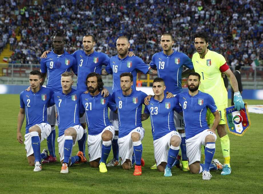 Group D  Italy Photo: Luca Bruno, Associated Press