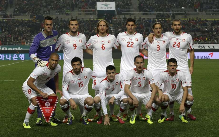 Group E  Switzerland Photo: Lee Jin-man, Associated Press
