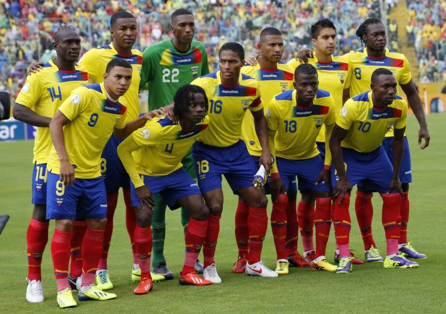 Group E  Ecuador Photo: Dolores Ochoa, Associated Press