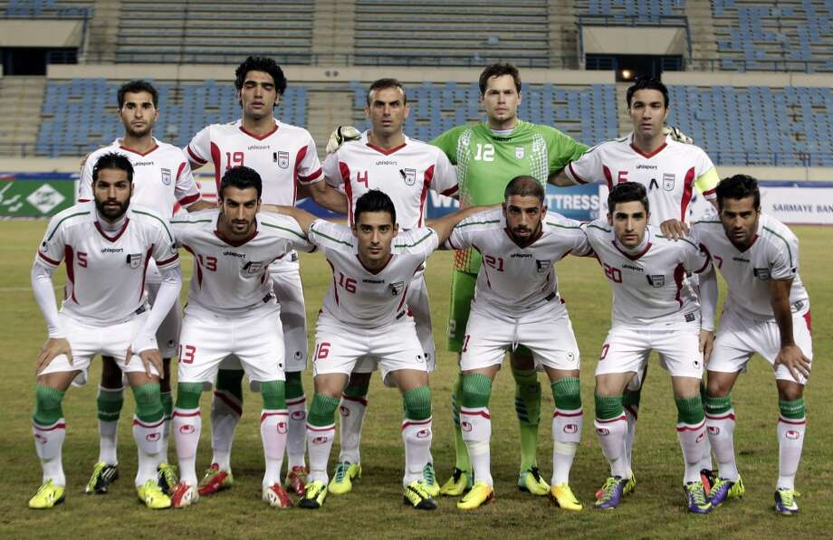 Group F  Iran Photo: Bilal Hussein, Associated Press