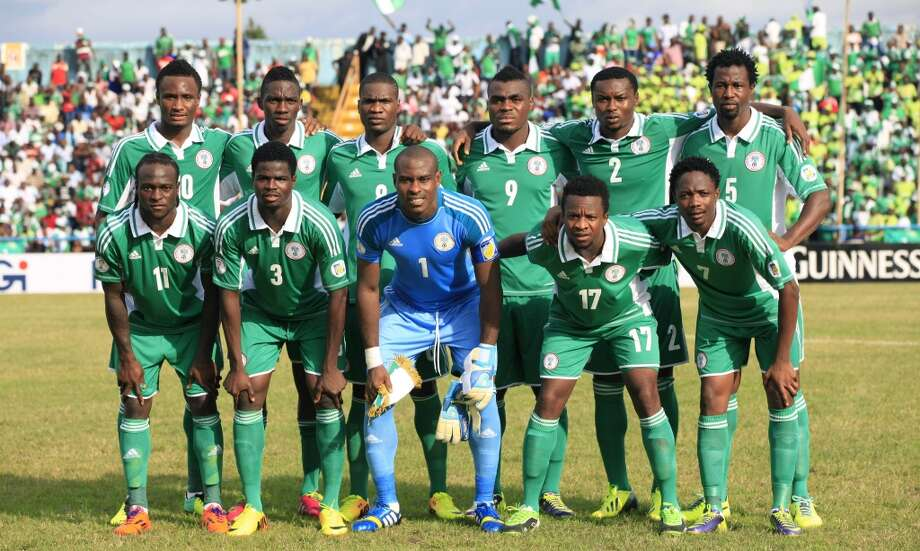 Group F  Nigeria Photo: Sunday Alamba, Associated Press