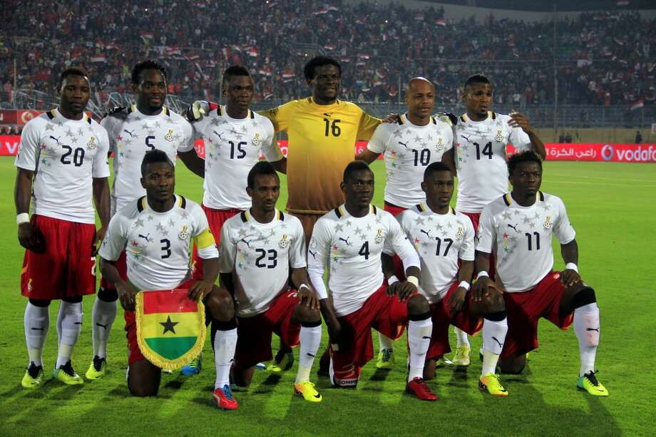 Group G  Ghana Photo: Ahmed Gomaa, Associated Press
