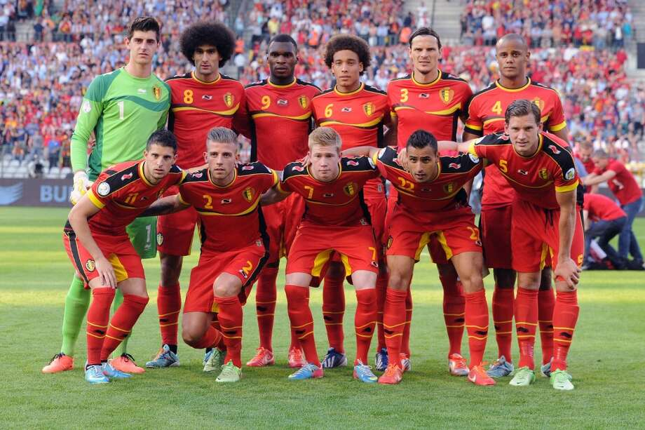 Group H  Belgium Photo: Geert Vanden Wijngaert, Associated Press