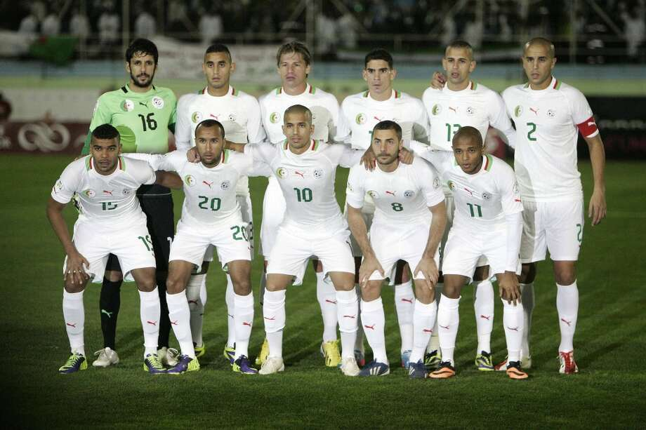 Group H  Algeria Photo: Anis Belghoul, Associated Press