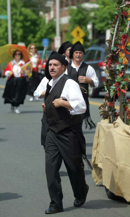 The annual Portuguese Day Parade in Danbury, Conn, took place on Sunday, June 8, 2014. Leaving from the Immaculate Heart of Mary Church, on Deer Hill Avenue, the parade went down West Street, crossed Main Street and turned onto Liberty Street, ending at Portuguese Square, stopping for speeches in front of the Danbury Library. Photo: H John Voorhees III / The News-Times Freelance