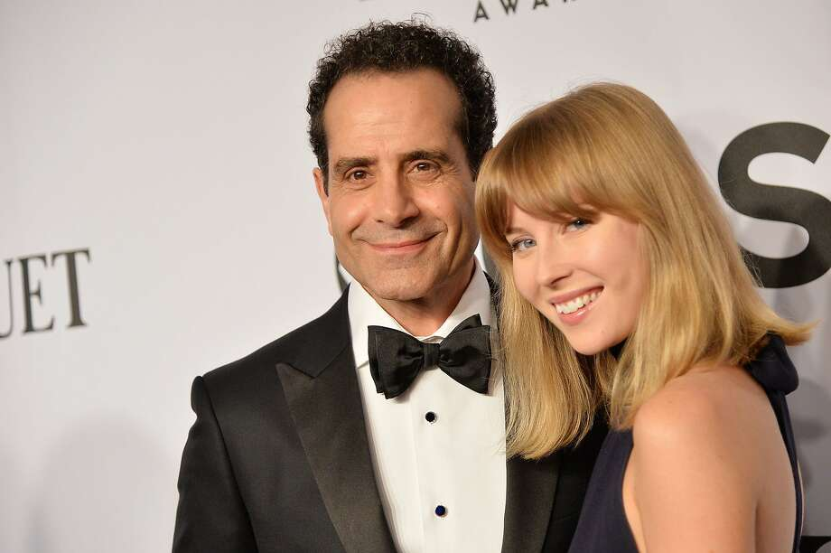 Tony Shalhoub and Josie Lynn Adams attend the 68th Annual Tony Awards at Radio City Music Hall on June 8, 2014 in New York City. Photo: Mike Coppola, (Credit Too Long, See Caption)
